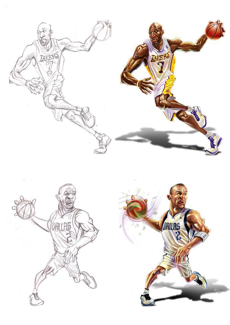 NBA stars 1 by A-BB