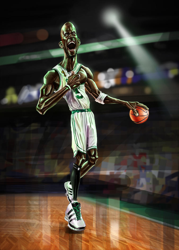 Kevin Garnett by A-BB