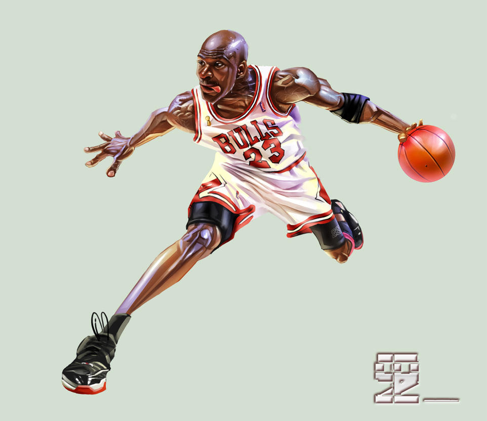Michael Jordan2 by A-BB