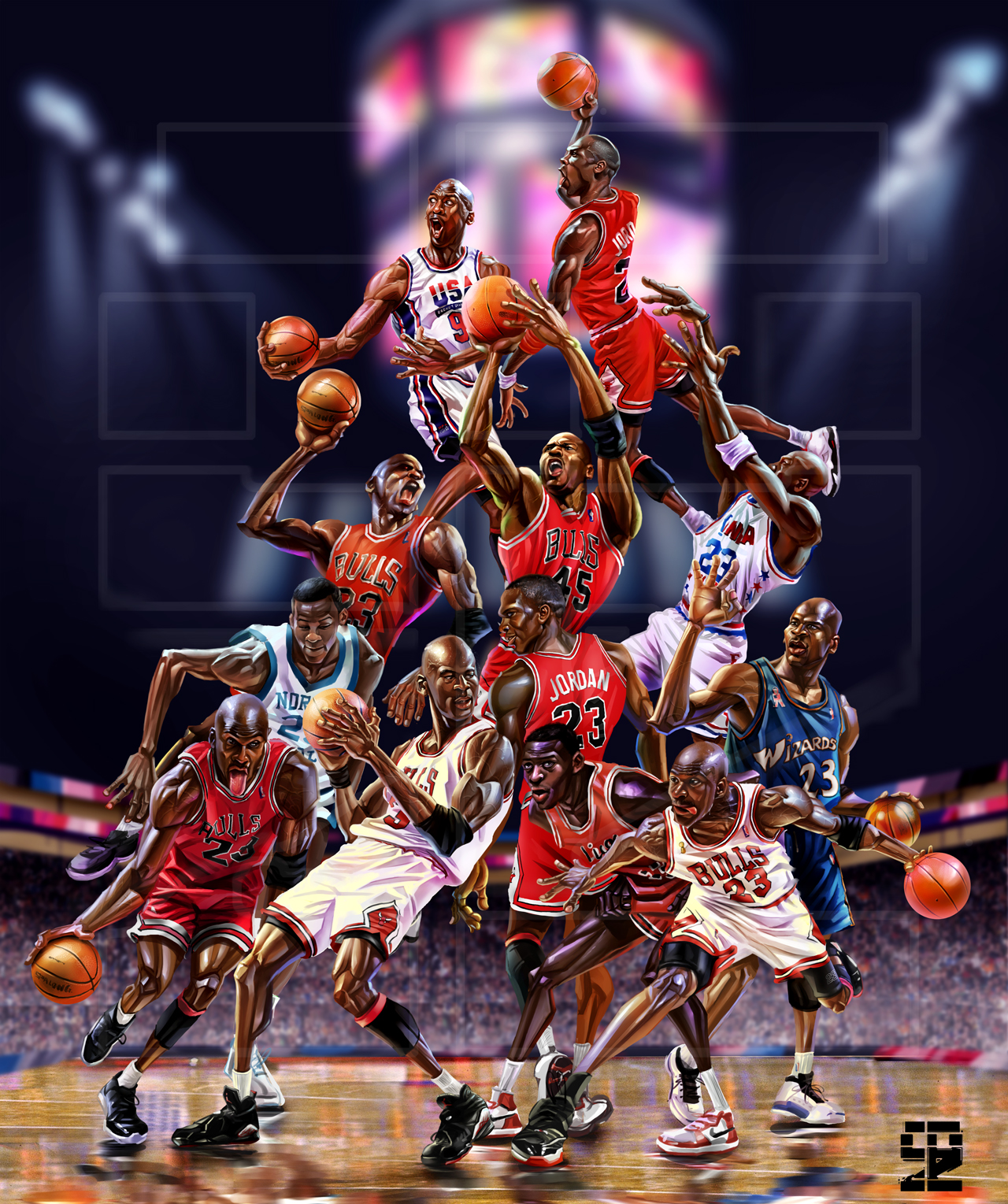 Michael Jordan Series by A-BB