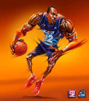 NBA AllStar DHoward by A-BB