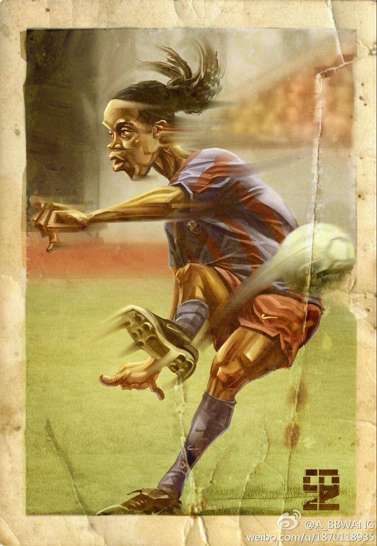 Ronaldinho by A-BB