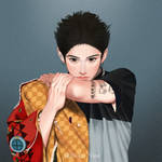 Taka ONE OK ROCK fan-art by Roku-nine