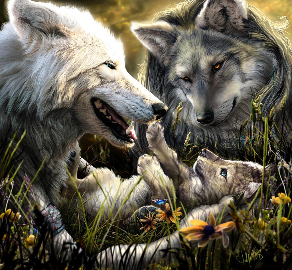 Werewolf Calender 2009 - July