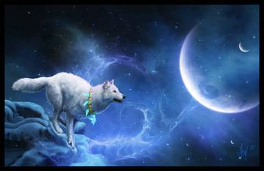 Star Wolf Mystic by Novawuff