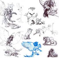 Sketchbook Hoopalah by Novawuff
