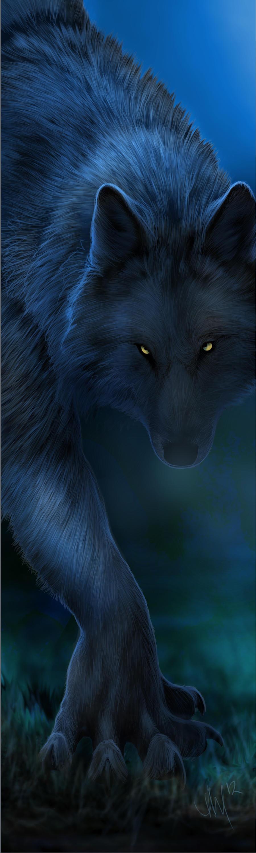 Dark as Midnight by Novawuff