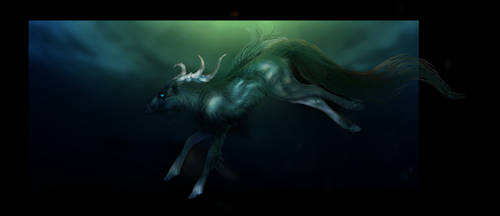 deer in my dreams by Novawuff