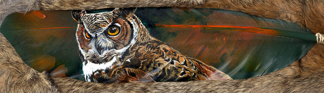 Great Horned Owl by Novawuff