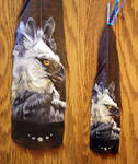 Featherpainting - Harpy Eagle by Novawuff