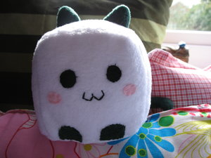 Milly the Tofu Kitty by Cute-Craft