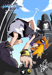 Neku:I don't need you anymore by EvilQueenie