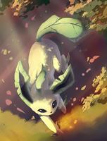 Leafeon by EvilQueenie
