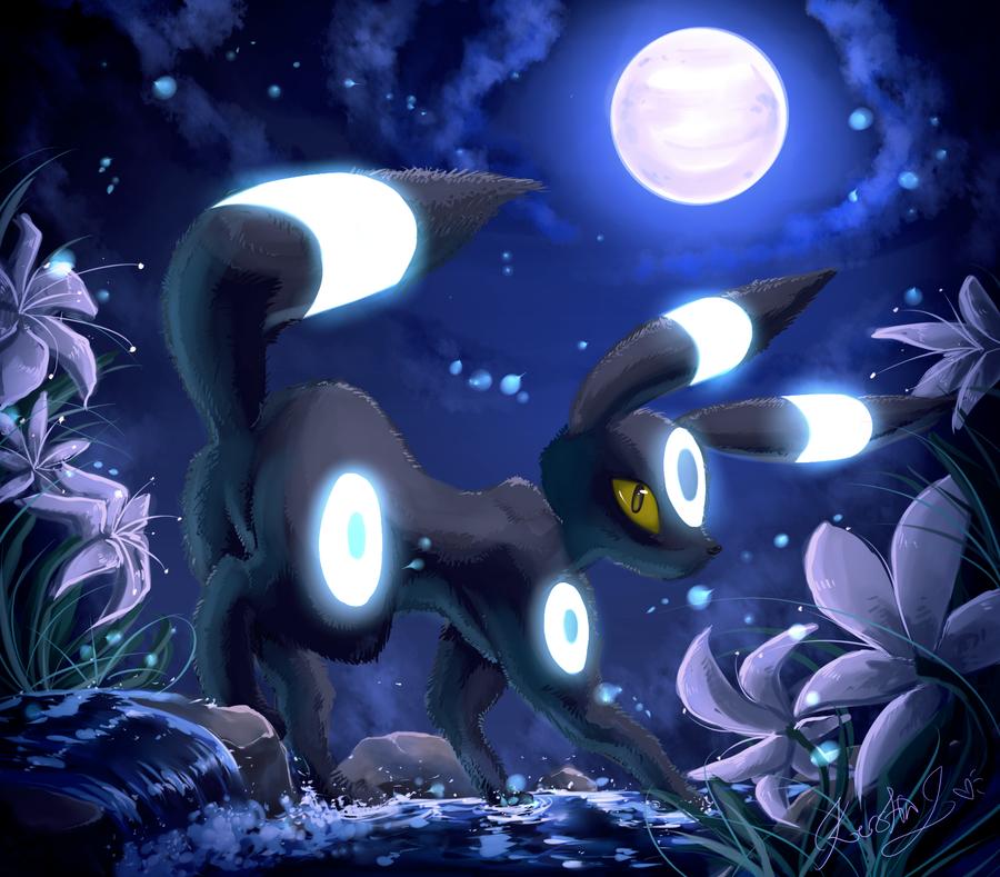 Umbreon Sfm: .:Moons Charm:. Shiny Umbreon By EvilQueenie On DeviantArt