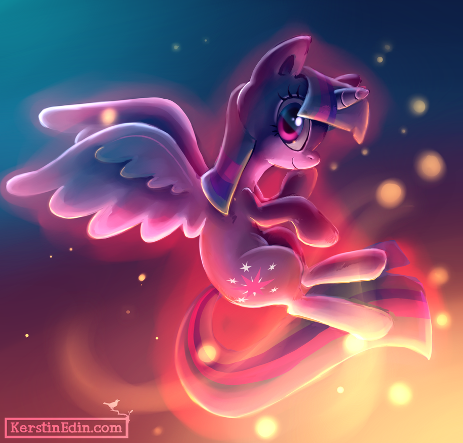 Princess Twilight Sparkle by EvilQueenie