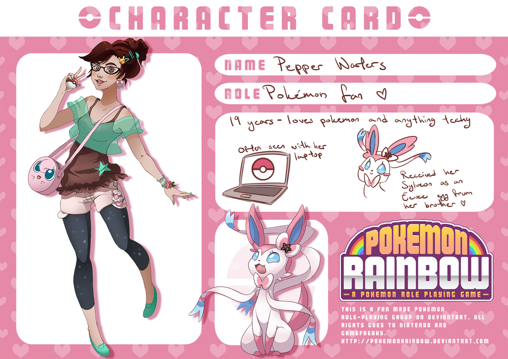 Pokemon Rainbow - Pepper by EvilQueenie