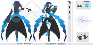 CONCEPT ART || ALYS - Avenir, Hurlement Version