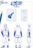 CONCEPT ART    ALYS - Hajime ni, Yuuzaa by T-a-t-s-u-k-i