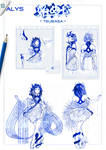 CONCEPT ART || ALYS - Hajime ni, Tsubasa