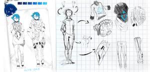 CONCEPT ART || ALYS, Marche au pas, Das