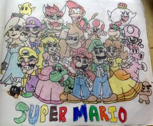Super Mario in color