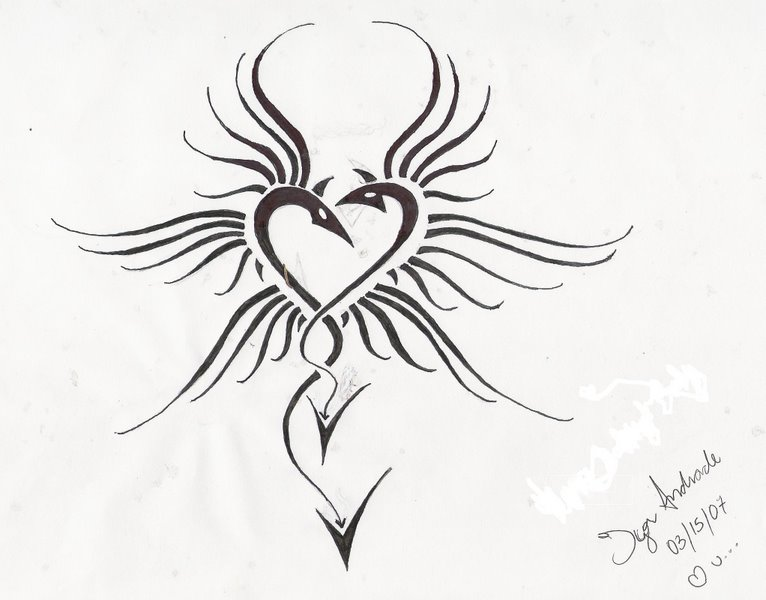 Dragon Heart 03-15-07 by Zurniel | 766 x 600 jpeg 51kB