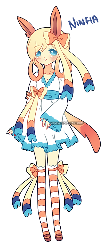 .: Ninfia Gijinka Adopt (GIVEAWAY/RAFFLE - CLOSED) by nilmea