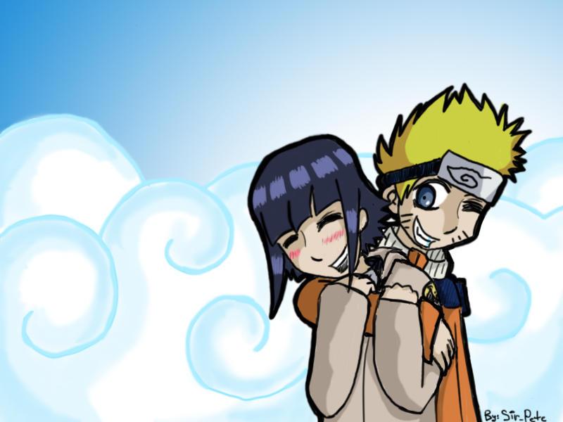 Naruto and Hinata by SirPete