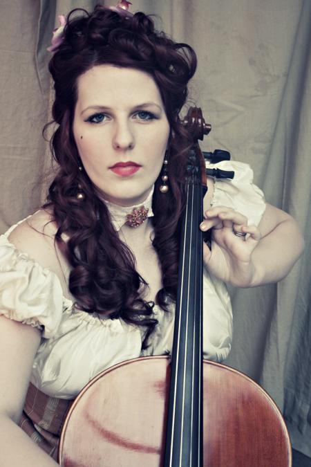 Charlotte - Cello 1 by Chamarjin
