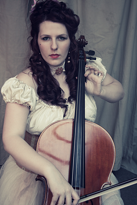 Charlotte - Cello 3 by Chamarjin