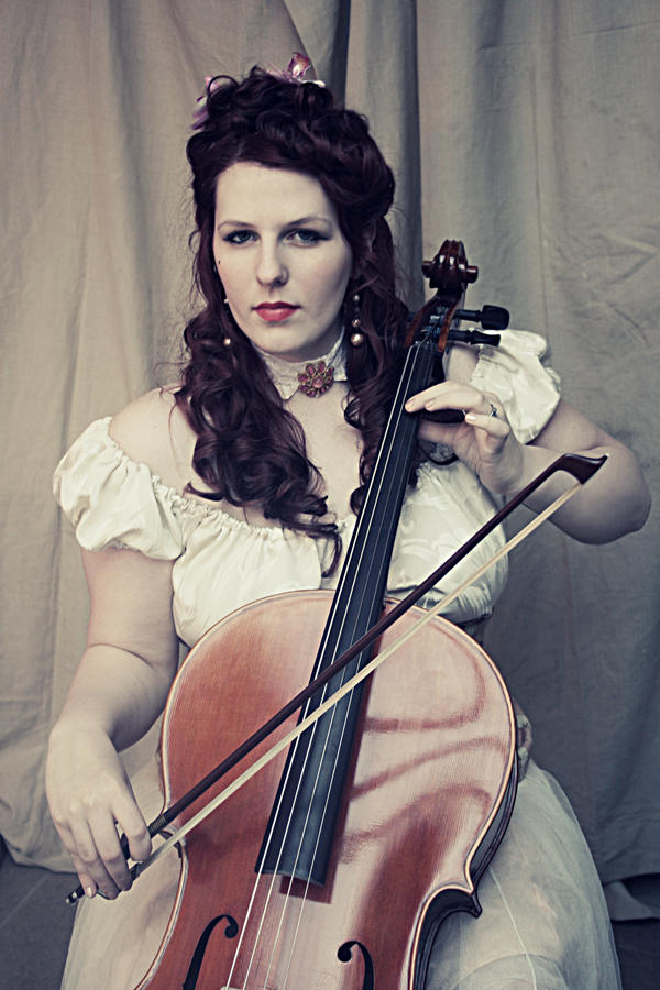 Charlotte - Cello 4 by Chamarjin