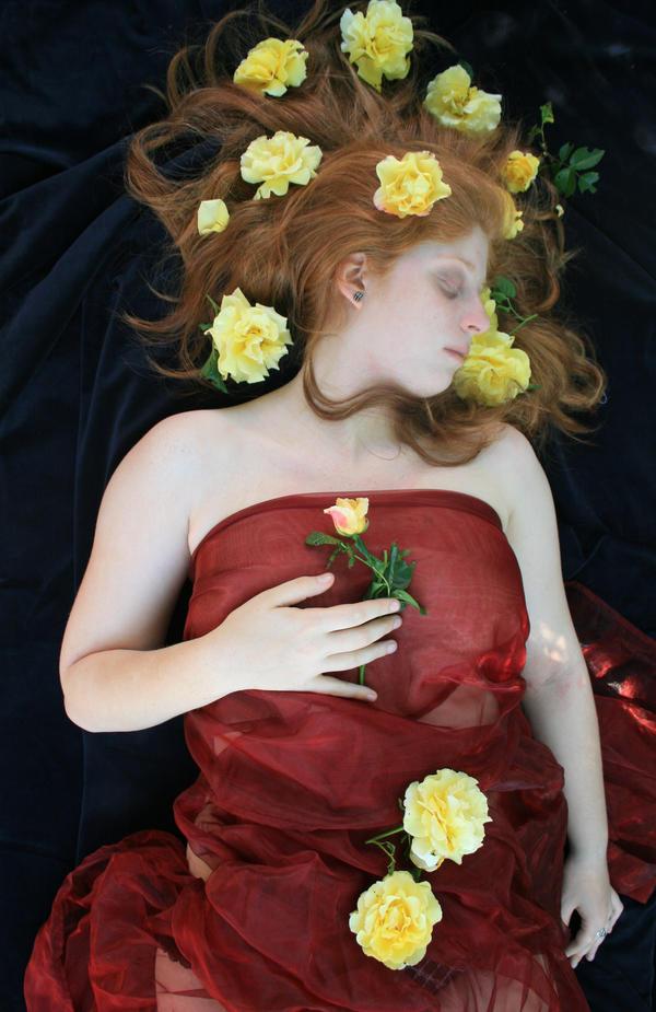 Sleeping Beauty by Chamarjin