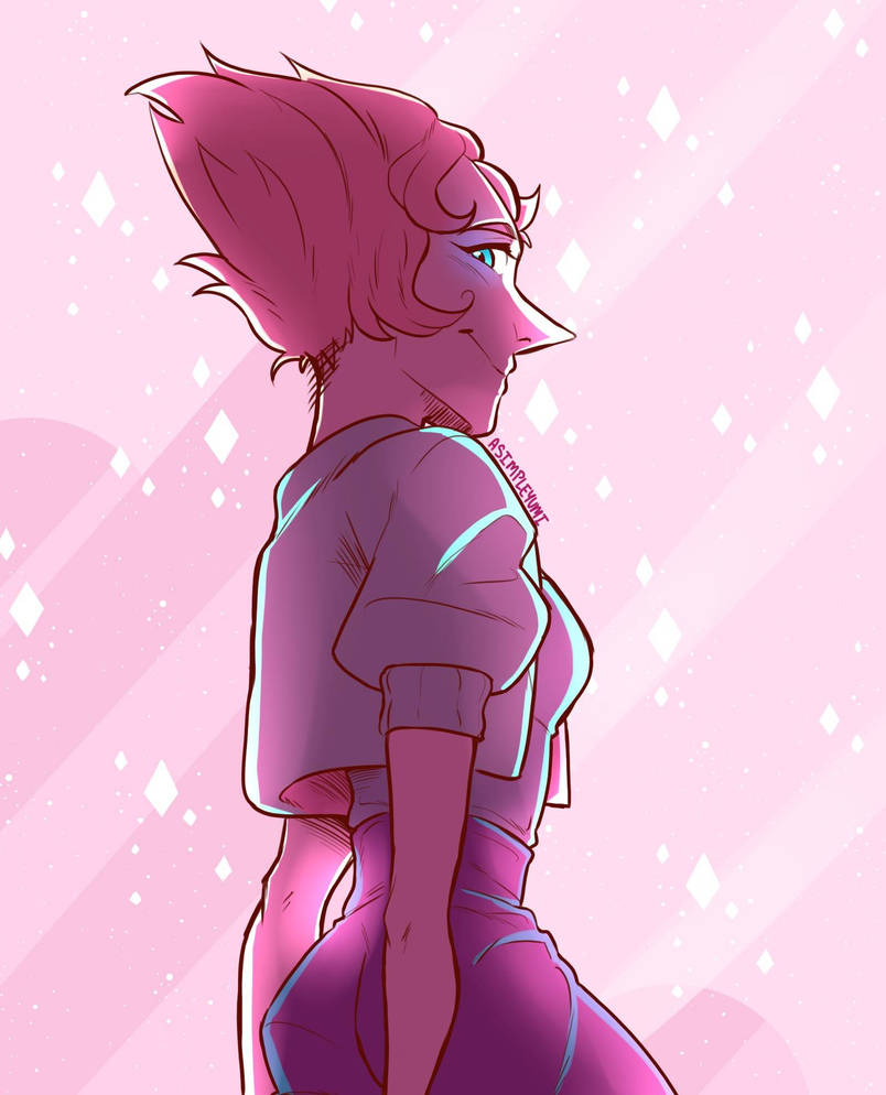 I decided to draw pearl from Steven Universe because why not. I had a really old drawing of pearl kicking around my gallery so its a bit of a motivated fanart for improvement purposes but also beca...