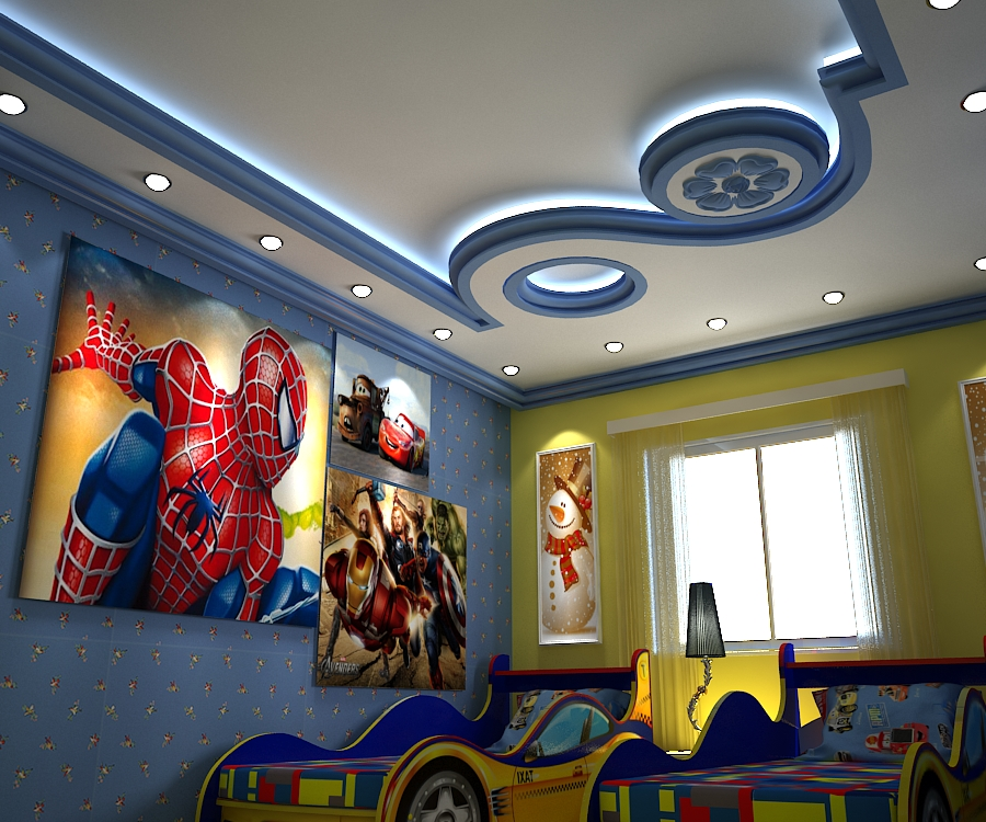 Boys Room Design By Samarfouad ...