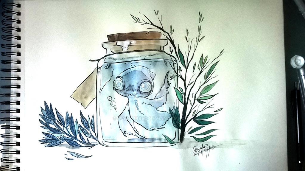 Specters in Jar by CassDoubleME