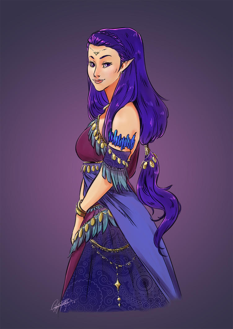 The wife of the King of the Pirates by CassDoubleME