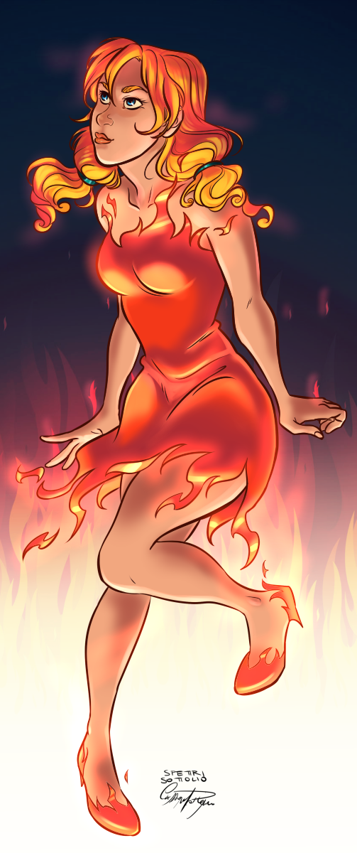 AT: Fire Lady by CassDoubleME