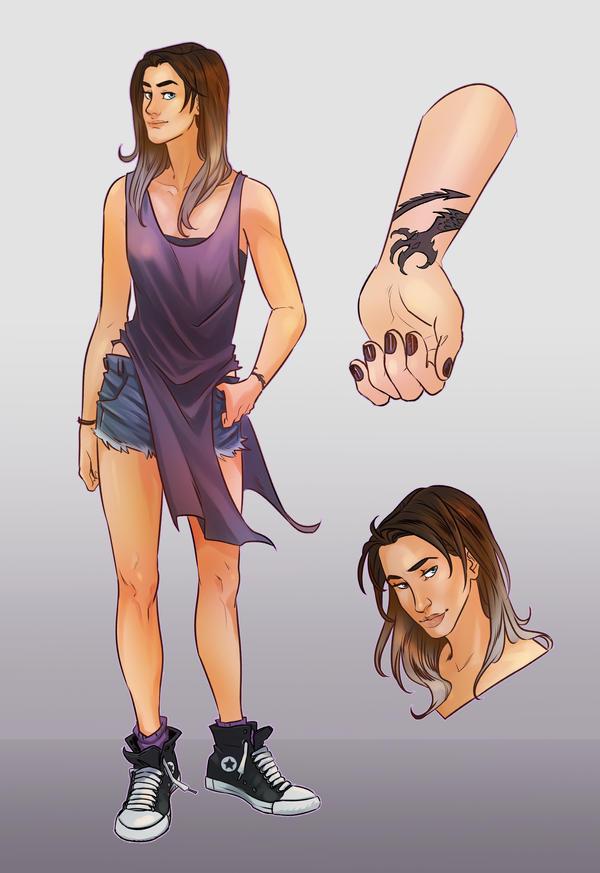 Character Sheet Tempe by CassDoubleME