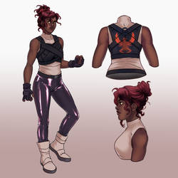 Character Sheet: Phoenix
