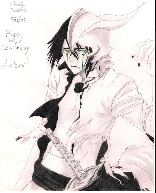 Ulquiorra For Amber by AnimeLover16810