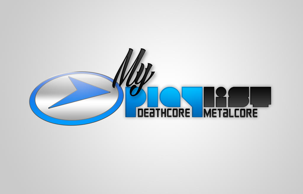 My metalcore playlist logo by Jimpapadim on DeviantArt