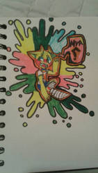 rainbow chibi thing :p by yeettheparakeet