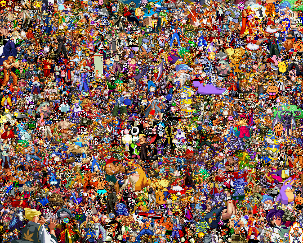 Sprites Explosion by supersonyk