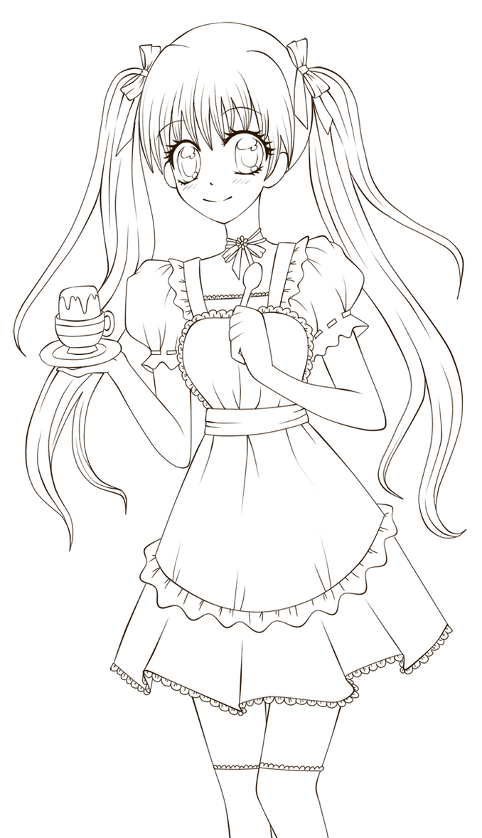 Anime Princess Coloring Pages For Girls Www Imgkid Com Anime Princess Coloring Page