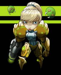 2906 Chiby Samus Aran Metroid by Spoon02