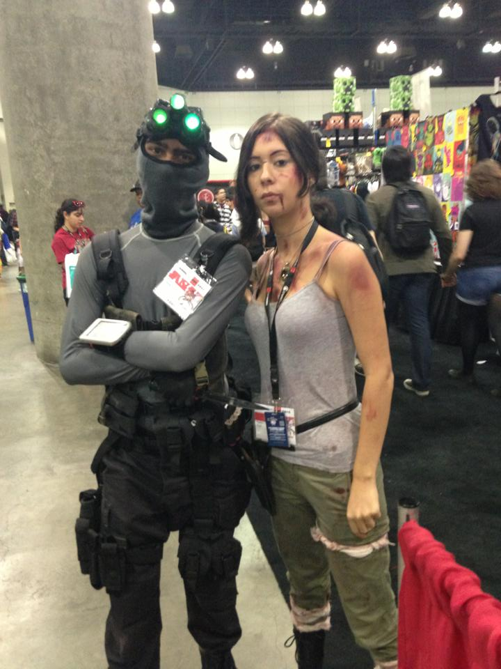 Sam Fisher Meets Lara Croft By W4rh0us3 On Deviantart