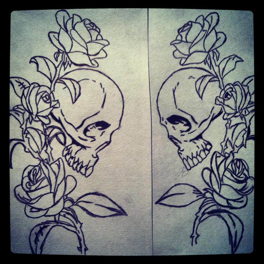 Rose Vines Drawings Pen Sketch Sku Rose Vine