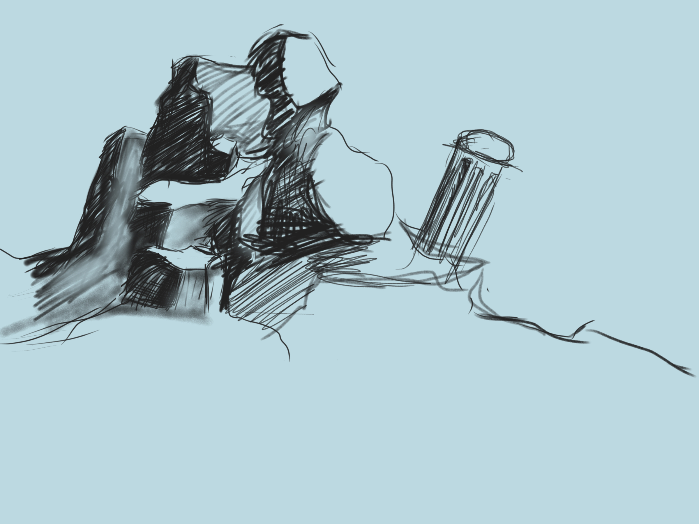 Autodesk Daily Challenge - 10 min landscape by CrazyJ454