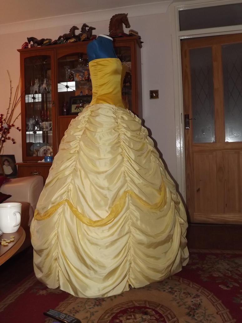 W i p beauty and the beast belle 39 s gown by athora x on for Wedding dress like belle from beauty and the beast