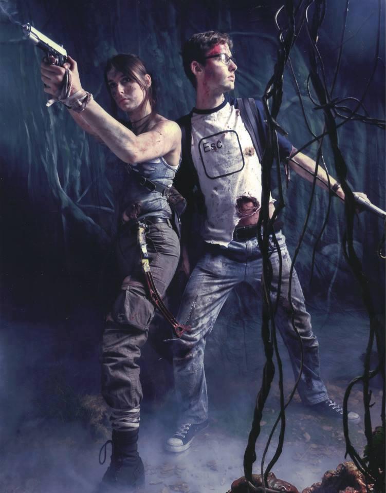 Alex Weiss and Lara Croft: Ambush by Athora-x